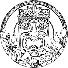 hawaiian coloring pages hawaiian flowers coloring pages archives