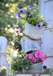 unique flower planters the pink hammer blog