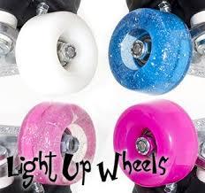 light up roller skate wheels rio roller light up wheels 4 pack mel s skate shop