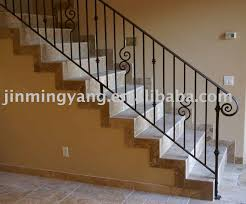 iron stair banisters and railings