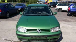 green volkswagen golf volkswagen golf for parts mus rasite islandijos pl 191c 1999 m