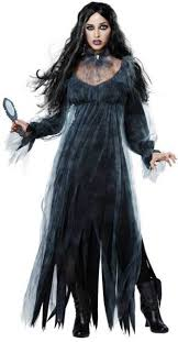 Clean Halloween Costumes Bloody Mary Costume Horror Halloween Dress Polyester Spot