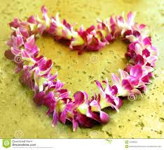 hawaiian leis hawaiian stock image image of heart honeymoon 23388925