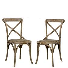 X Back Bistro Chair Cafe Chair Contemporary Classic Wood Chairs In 4 Prepare