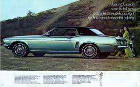 first mustang ever made curbside classic 1971 ford mustang grande u2013 como se dice brougham