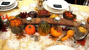 Thanksgiving Table Centerpieces by Thanksgiving Table Decorating Ideas Pictures Themontecristos Com