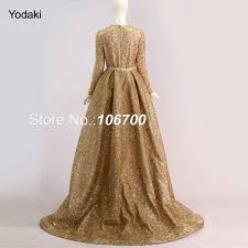 bling real photos detachable tail formal evening dresses long