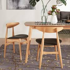 Scandinavian Dining Room Chairs Homesullivan Judson Scandinavian Natural Dining Chair 40512 Bks2p