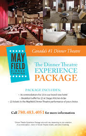 accommodation mayfield dinner theatre