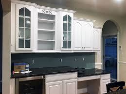 Kitchen Cabinets Refinished Kitchen Cabinet Refinishing U0026 Painting Grande Finale