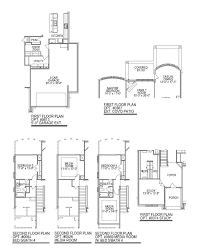 plan f577 the woodlands at creekside 55 u0027 in the woodlands tx