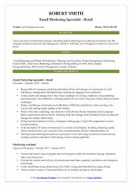 Web Content Manager Resume Email Marketing Specialist Resume Samples Qwikresume
