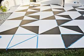 painted patio tile diy u2013 a beautiful mess