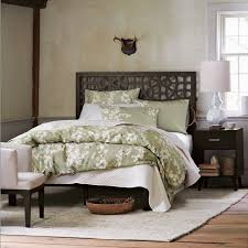 Moroccan Bed Linen - morocco headboard chocolate west elm