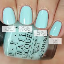 opi gelato on my mind comparison fall 2015 venice collection