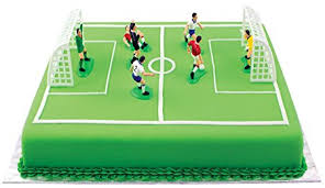 soccer cakes pme football soccer toppers for cake and cupcakes set of 9