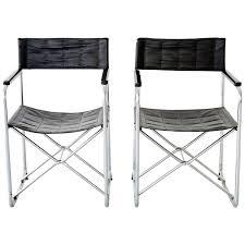 Folding Chairs Pair Of Japanese Uchida Midcentury Folding Chairs At 1stdibs