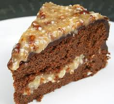 a naturally sweet german chocolate cake my humble kitchen