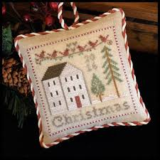 house needleworks 2016 ornament cross stitch