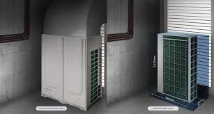 Compact Design 10 Hp Vrf Dvm Heat Pump Am100kxmdgh Eu Samsung Business Uk