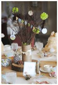 woodland baby shower decorations woodland theme table decor link to with more detailed photos