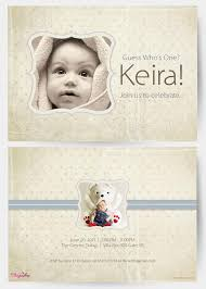 first birthday invitation cards customised printed birthday