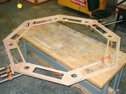 how to build a poker table diy poker table how to build an octagon poker table diy poker table