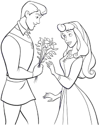 disney princess aurora download printable coloring image