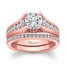 bridal gold ring barkev s gold bridal set 7951ps