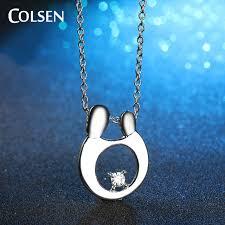 Couple Name Necklace Colsen Pure Lover Little Boy And Couple Pendant Chain Zinc