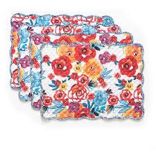 color me canvas placemats 24pk walmart com