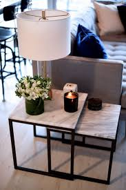marble top nesting tables living room room ls top apartment decorating table console
