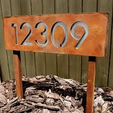 prairie style house numbers house style design