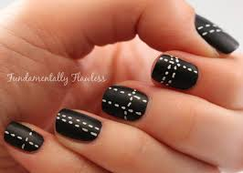55most stylish matte nail art designs how to do easy black nail