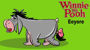 how to draw eeyore coloring step by step learn drawing