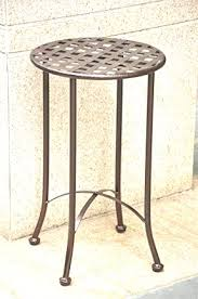 Patio Side Tables Glass Patio Side Table Outdoor Metal Side Table Side Table