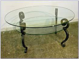 glass oval coffee table toronto coffee table home furniture
