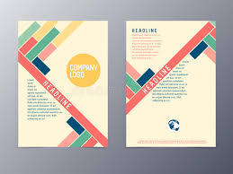 design flyer layout colorful modern design flyer template vector stock vector free