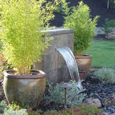 Waterfall Fountains For Backyard by Outdoor Extravagant Modern Outdoor Fountain For Enhancing Your
