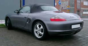 Porsche Boxster 1997 - file porsche boxster rear 20070323 jpg wikimedia commons
