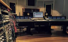 Studio Console Desk by Baggpipe Turns It Up With Ssl Duality Solid State Logic