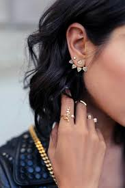 ear cuffs 12 ways to wear ear cuffs