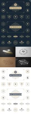 50 luxury ornaments logos monogram logo templates creative