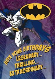 batman congratulations card batman legendary birthday card greeting cards hallmark