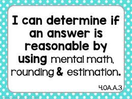 can statements 4th grade math kid friendly posters oa nbt