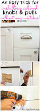 How To Install Kitchen Cabinet Pulls Attaching Kitchen Cabinet Hardware Kitchen
