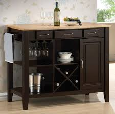 Furniture Style Kitchen Island by Portable Kitchen Island Scott Living Brown Industrial Kitchen