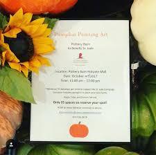 Pottery Barn Locations Ma Pumpkin Painting At Pottery Barn Holyoke Mall
