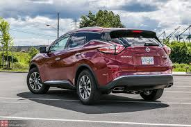 nissan murano old model 2015 nissan murano sl awd review u2013 suave ugly duckling