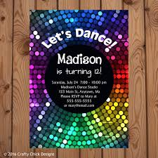 army birthday invitations disco dance birthday party invitations crafty designs